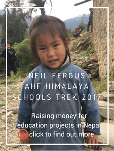 AHF Himalaya Schools Trek 2017